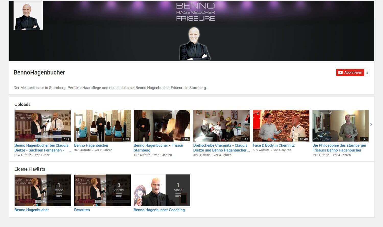 Hagenbucher YouTube Kanal